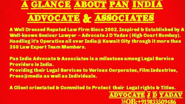 Advocate, Lawyer , Legal Consultant | Pan India Advocate & Associates